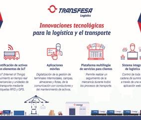 Transfesa lanza innovaciones en logística