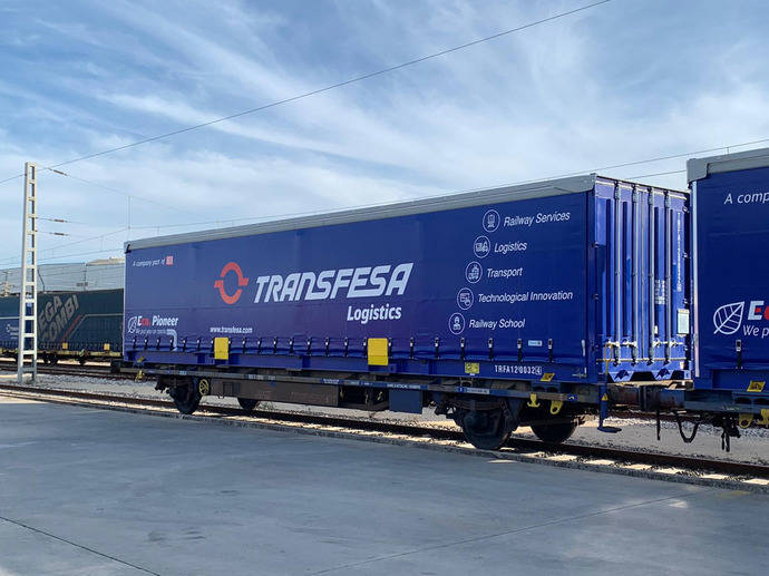 Transfesa Logistics renueva el parque de cajas móviles para tráficos europeos