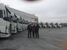 Transleyca continúa apostando por Volvo Trucks adquiriendo 15 FH 500T I-see