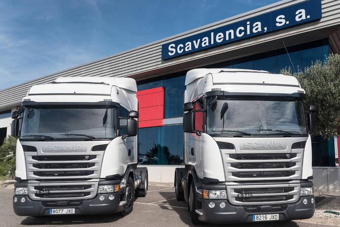 Transnugon adquiere dos camiones GNL de Scania