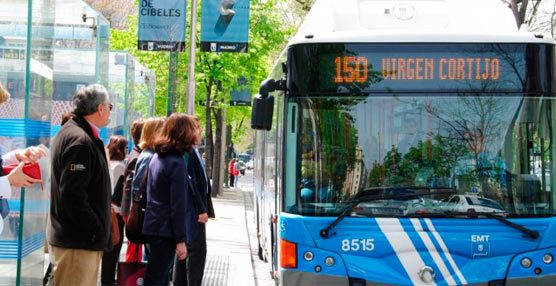 El número de usuarios del transporte público aumentó un 3,9% en enero