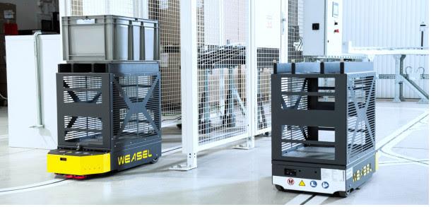 SSI Schaefer lanza Weasel Lite, guiado automático para cargas pequeñas
