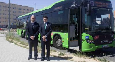 Madrid y DBlas mejoran servicios de autobuses de Alcorcón