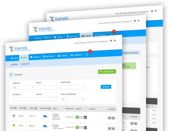 Nace Transtic.com, 'la primera red social para la gestión del transporte'