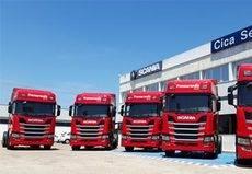 Transursedis apuesta por el gas al sumar cinco Scania R410 de GNL