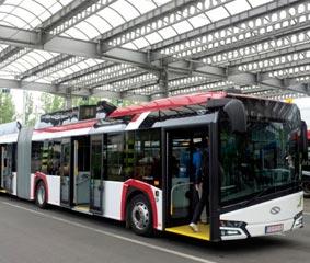 Nuevo trolebús Trollino bi-articulado de 24 metros de Solaris