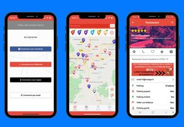 Michelin actualiza su 'app' TruckFly con información para transportistas