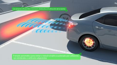 Los accidentes se reducen un 70% gracias al sistema ICS de Toyota