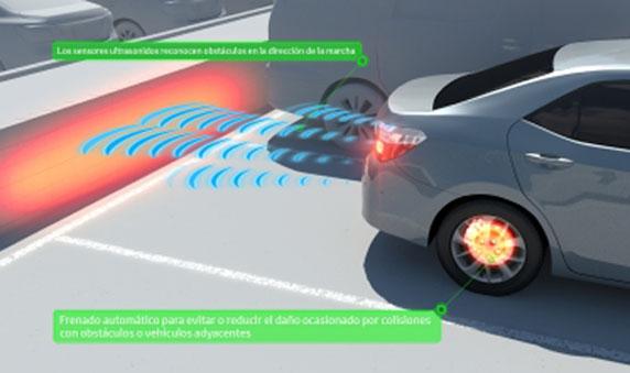 Colisiones traseras se reducirán un 90% gracias a Toyota Safety Sense