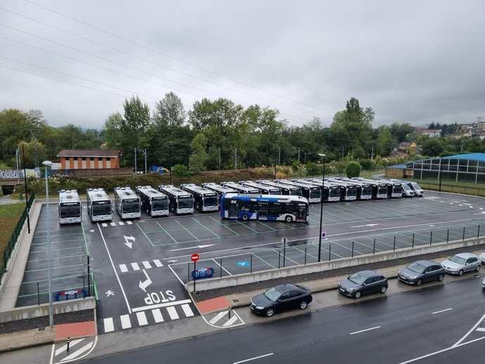 Ya circula en Oviedo el primer eCitaro de propulsión totalmente eléctrica