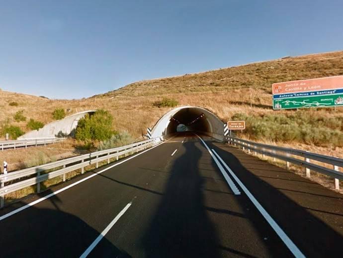 Castilla y León declara emergencia las obras en el túnel de Tardajos