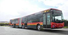 Autobús de la flota de Tussam