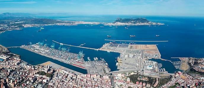 Imagen del Puerto de Algeciras.