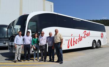 Úbeda Bus amplía su flota con el SC7 de Sunsundegui