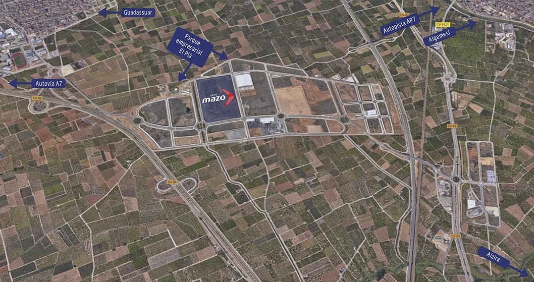 Grupo Mazo elige a Grupotec para sus nuevas instalaciones