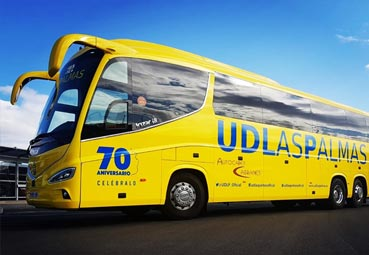 UD Las Palmas confía en Autocares Cabranes para la próxima temporada