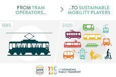 UITP: 135 años con evolución del transporte público