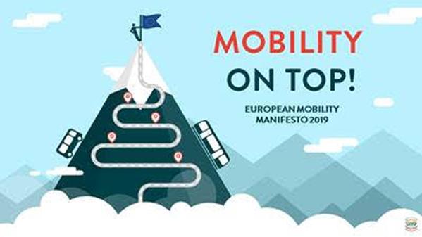 UITP lanza un Manifiesto de la Movilidad Europea, para las elecciones