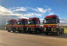 Nuevas unidades de Renault Trucks para transporte de maquinaria de UME