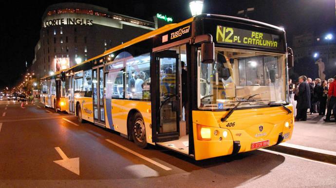 Huelga de buses nocturnos y metropolitanos en Barcelona hasta el día 23