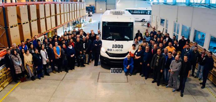 Indcar llega a la unidad número 1.000 de su gama Mobi