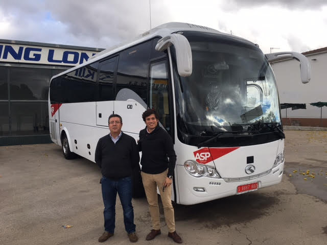 Autobuses Paco Pepe adquiere de Veinbus un King Long modelo C10