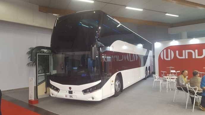 Unvi muestra sus innovadoras novedades en Busworld Europa