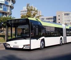 Uno de los modelos eléctricos de Solaris.