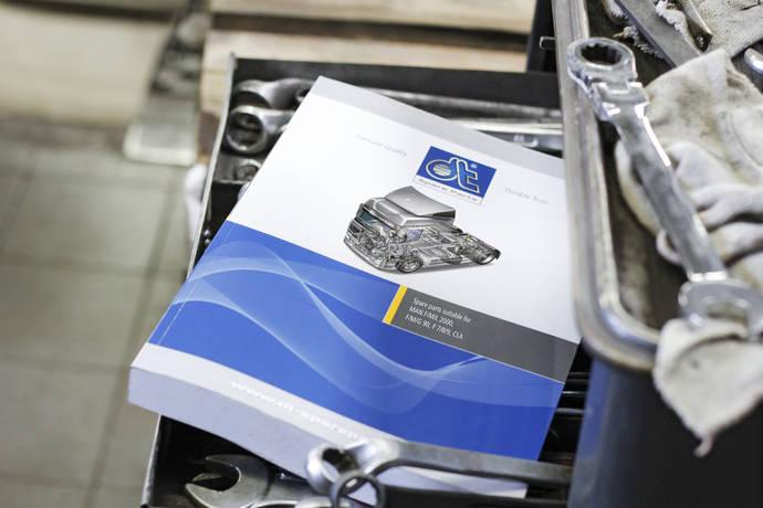 El nuevo catálogo de recambios para camiones MAN de DT Spare Parts.