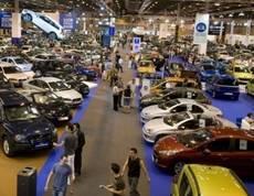 Imagen de un salón de vehículos de ocasión