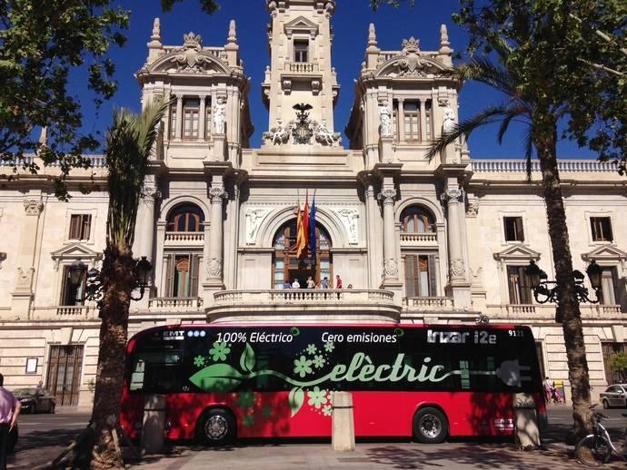 EMT Valencia probará un autobús eléctrico hasta finales de julio
