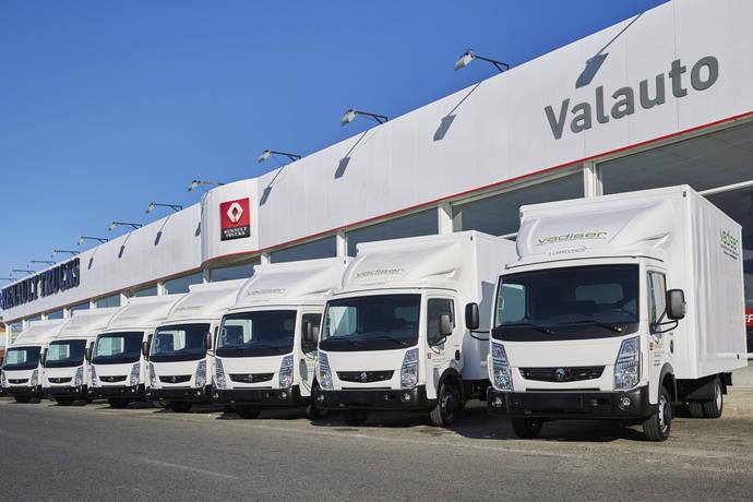 La compañía Vadiser compra 30 vehículos Renault Maxity