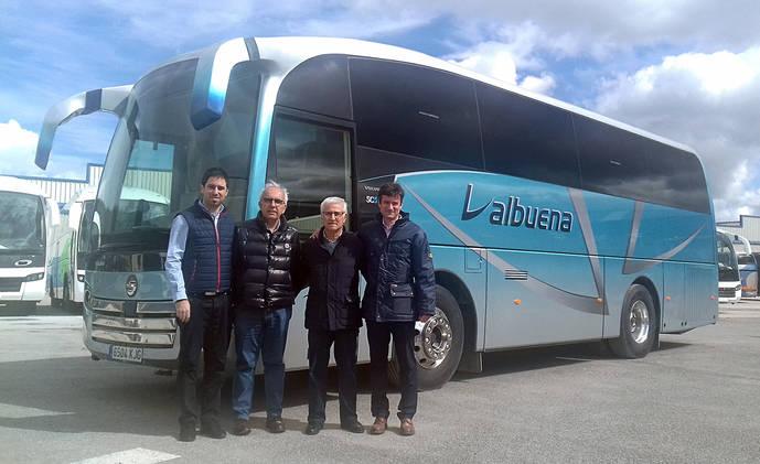 Autocares Valbuena adquiere un SC5 de 10 metros de Sunsundegui