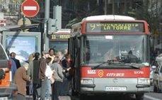 Valencia congela los precios del transporte público