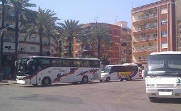 Sale a licitación la estación de autobuses de Dénia