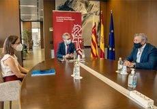 Los transportistas valencianos trasladan sus demandas al Gobierno regional