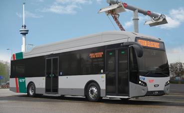 55 VDL Citea SLF-120 Electric para RET en Rotterdam