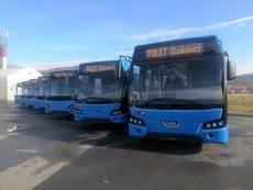 Siete Citeas LLE120 de VDL entregados a Polet