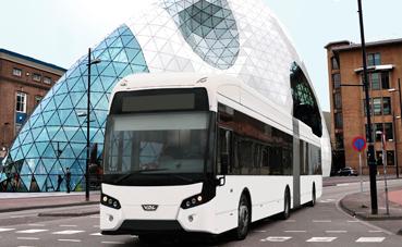 VDL Bus & Coach gana una licitación de e-bus en Suecia