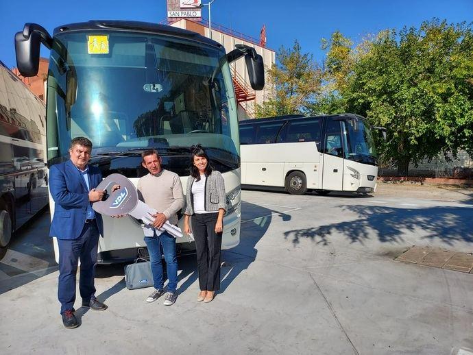 Autocares Rosamar incorpora dos vehículos VDL Futura en su flota