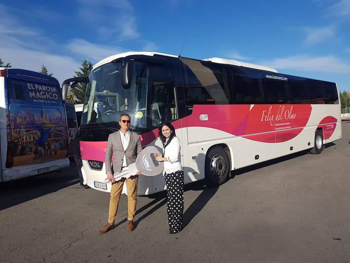 Autocares Félix del Olmo adquiere un autocar de VDL