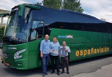 VDL Bus & Coach entrega un autocar a la empresa Marbellabus