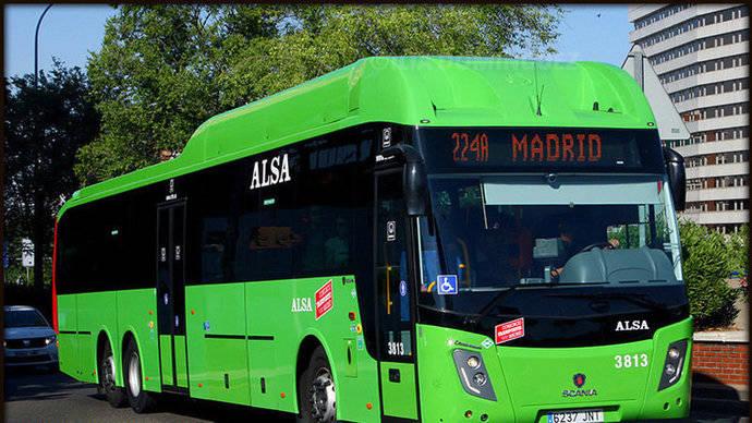 Un autobús del CRTM.