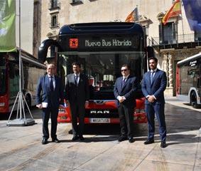 Vectalia presenta el híbrido-electrico en Alicante y Alcoy