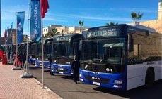El acto de presentación de la nueva flota se ha desarrollado en el centro de Safi.