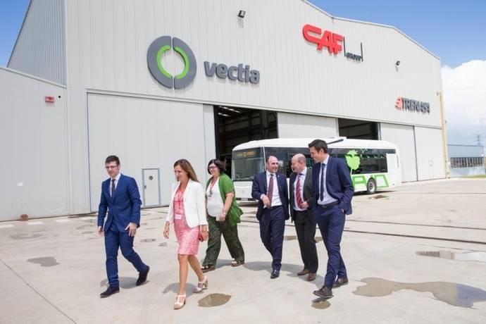 Sodena invierte 5,7 millones de euros en Vectia, para acelerar su crecimiento