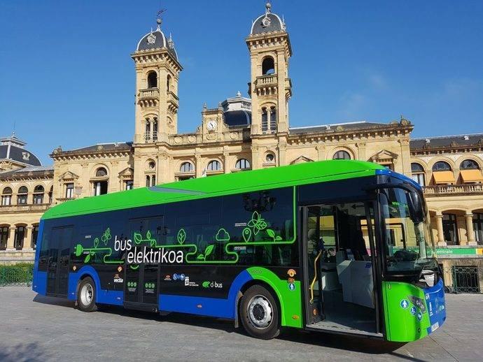 Acaban pruebas de Dbus del autobús híbrido-eléctrico de la marca Vectia