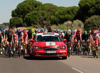 Škoda vuelve a ser vehículo oficial de la Vuelta Ciclista a España