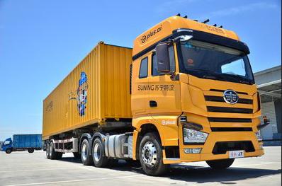 Suning finaliza con éxito las pruebas de su camión pesado automatizado, sin conductor
