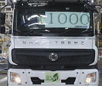 BharatBenz alcanza el hito de producción su nueva gama de camiones